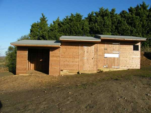 Stable, Tack Room and Hay Store